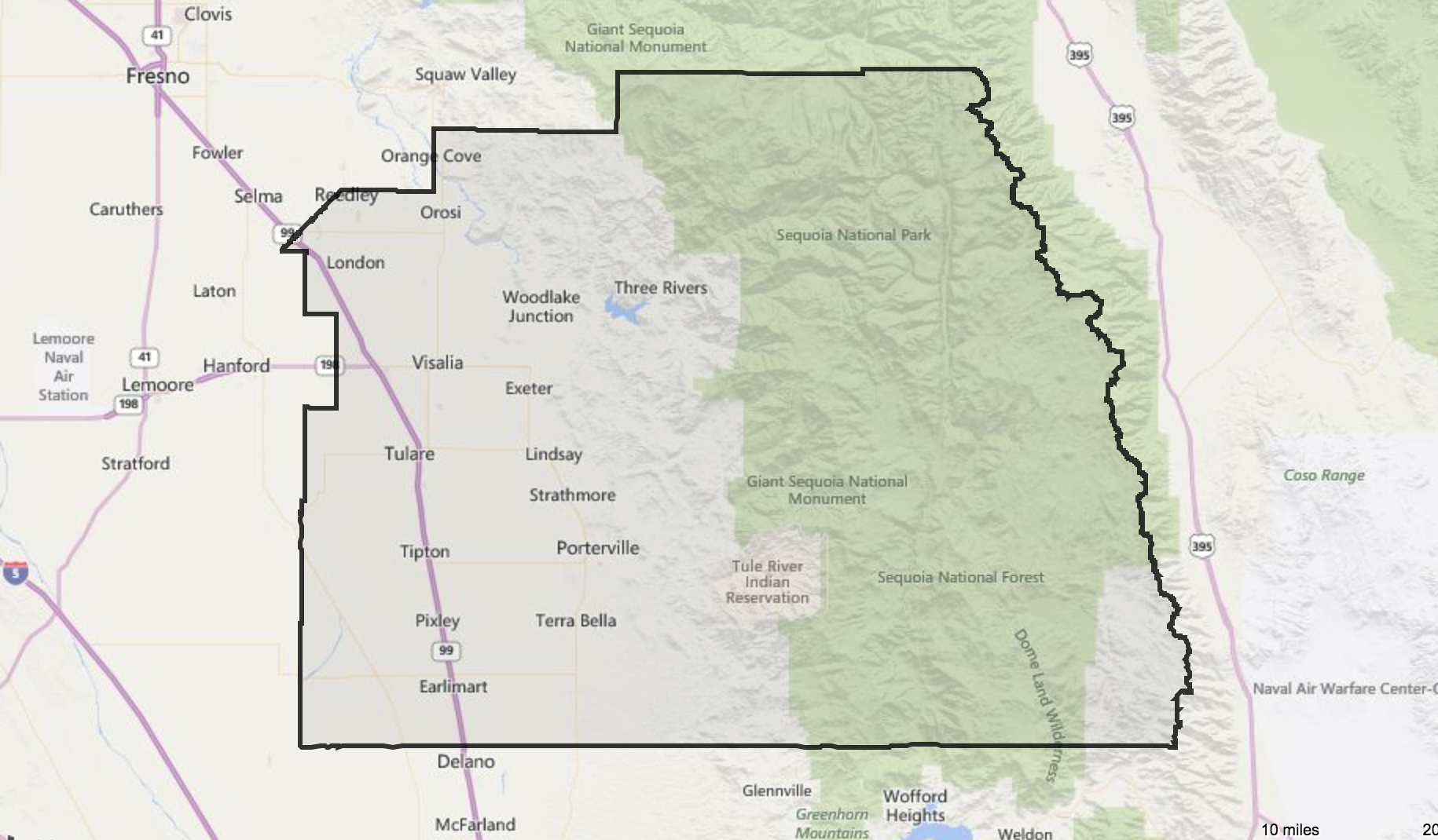 Tulare County, CA